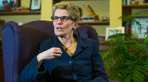ALL SIGNS POINT TO 2015 AS THE YEAR KATHLEEN WYNNE